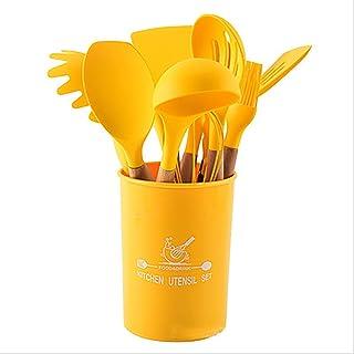 Amazon Com Cooking Utensils Yellow Cooking Utensils Kitchen Utensils Gadgets Home Kitchen