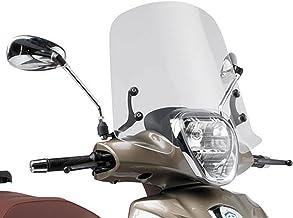 Zyurong Pare-Brise de Moto r/églable Pare-Brise /étendu Aileron Universel pour Kawasaki Yamaha