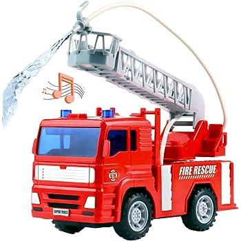 Dickie 203715001 Toys City Fire Engine, Feuerwehrauto mit