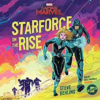 Marvel's Captain Marvel: Starforce on the Rise                   By:                                                                                                                                 Marvel Press,                                                                                        Steve Behling                               Narrated by:                                                                                                                                 Nicol Zanzarella                      Length: 3 hrs and 41 mins     8 ratings     Overall 4.0