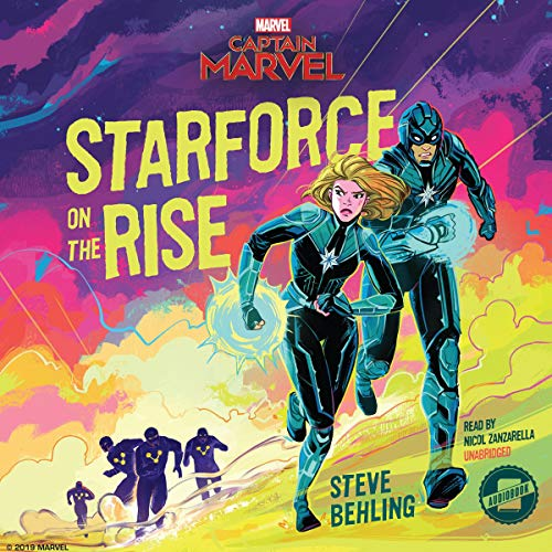 Marvel's Captain Marvel: Starforce on the Rise audiobook cover art