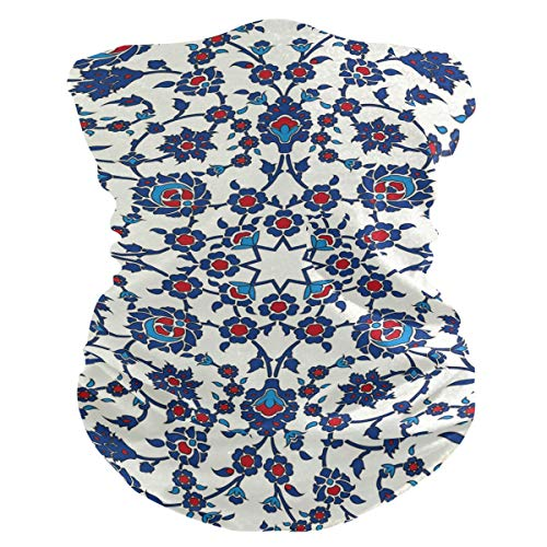 Máscara de tela para mujer, pañuelos multifuncionales, patrón de costura, unisex, mini flores, patrón de máscara para hombre, para uso al aire libre, diadema para la cabeza, toalla facial lavable en el interior
