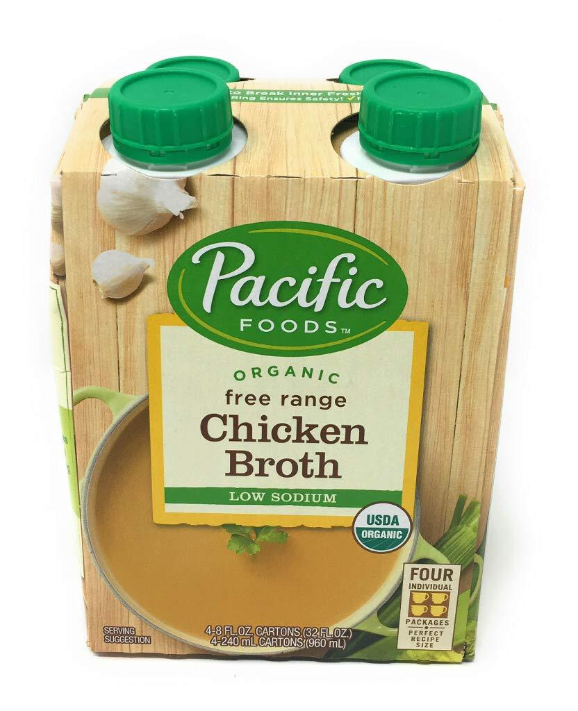 Pacific Foods Organic Low Sodium Broth oz Cartons Chicken 32 Max 52% OFF 5 ☆ popular