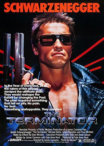 The Terminator 80s Movie Poster