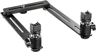 Walimex 17832 - Juego básico de rieles para macrofotografía Negro