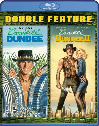 Crocodile Dundee / Crocodile Dundee II Double Feature [Blu-ray]