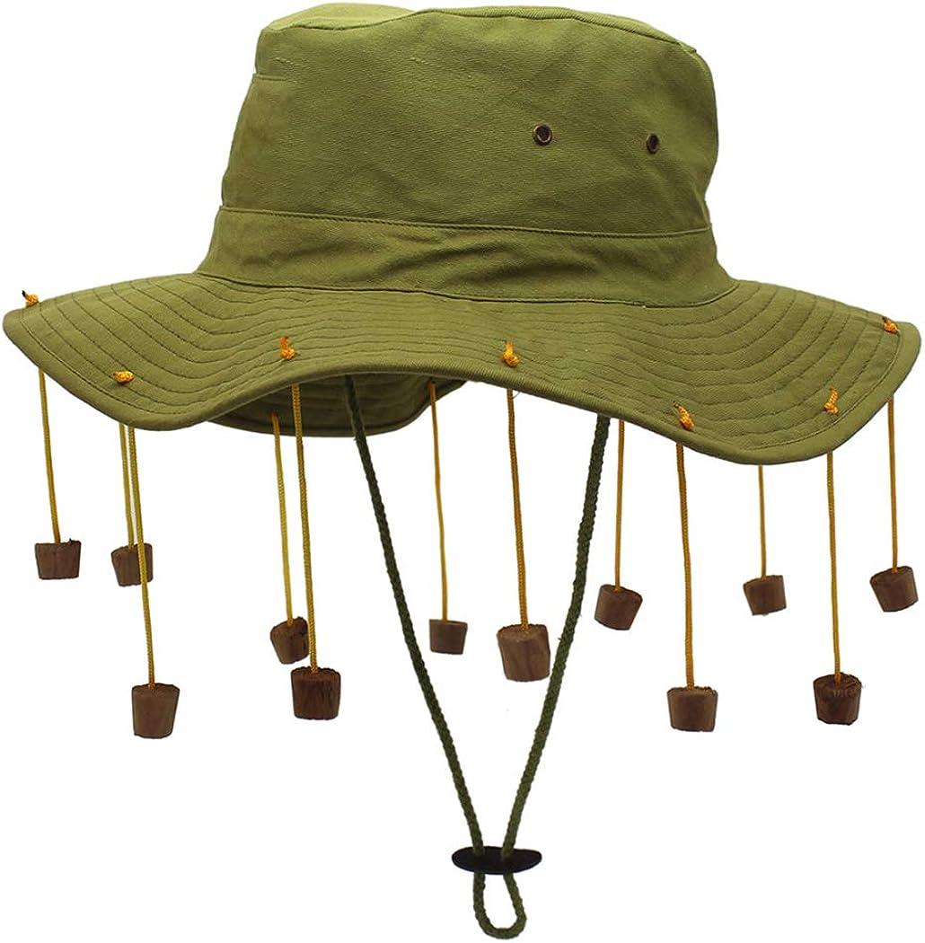 COSYOO Wide Brim Hat Breathable Unisex Tassel Beach Hat Festival Floppy Hat Fedora Summer Hat