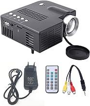 UC28A Mini Proyector LED portátil 1080P Multimedia Cine en