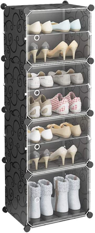 Recommended ZHJING Shoe Rack Trust Entryway Vertical Cabi