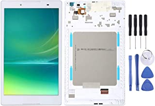 SHUHAN LCD Screen Phone Repair Part LCD Screen and Digitizer Full Assembly with Frame for Lenovo Tab 2 A8-50 A8-50F A8-50L...