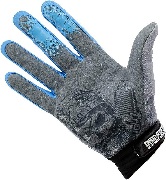 Handschuhe One Fifty Blau L Auto