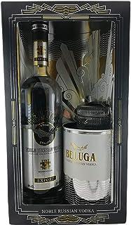 Vodka Beluga Kaviar Geschenkset russischer Wodka caviar gift set