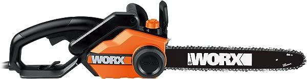 WORX WG303 1 Powered Chain Saw 16 Bar Length Red