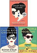 Kevin Kwan Crazy Rich Asians Trilogy Collection 3 Books Set Pack (Crazy Rich Asians, China Rich Girlfriend, Rich People Pr...