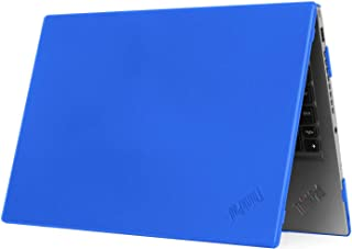 """mCover Hard Shell Case for 2020 14"""" Lenovo ThinkPad T490 Series Laptop Computer (Blue)"""
