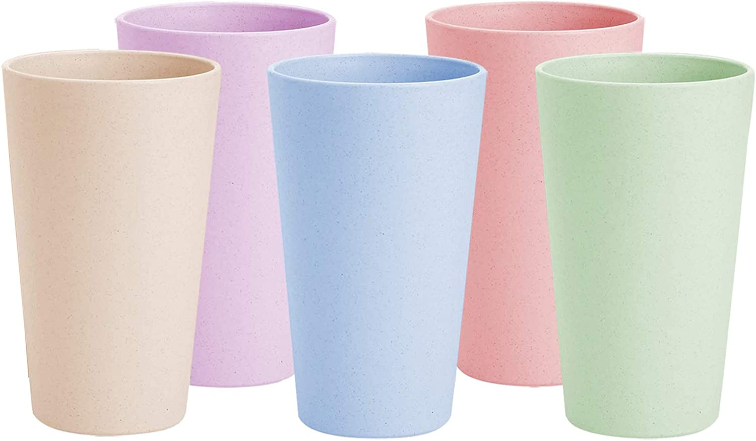 Super sale period limited YAPULLYA 20 oz Unbreakable excellence Drinking Wheat Straw Reusable Cups