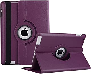 iPad 2/3/4 Case - 360 Degree Rotating Stand Smart Case Protective Cover with Auto Wake Up/Sleep Feature for Apple iPad 4, ...