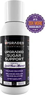 Upgraded Vegan Keto Blood Sugar Support | Liquid Nano Minerals Superior Absorption Supplement | Natural Gluten Free Mood Insulin Metabolism Weight Loss Support Sugar Free | 3 oz