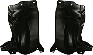Engine Splash Shield Set of 2 compatible with 2004-20062008-2009 Mazda 3 Under Cover Right and Left Side Rear