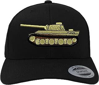 Custom Snapback Baseball Cap WWII Army Military Tank Embroidery Unit Cotton