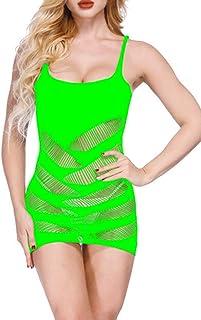 30ebcb1d75e LemonGirl Women Sling Bodystockings Lingerie Bodysuit Stockings Dress Free  Size