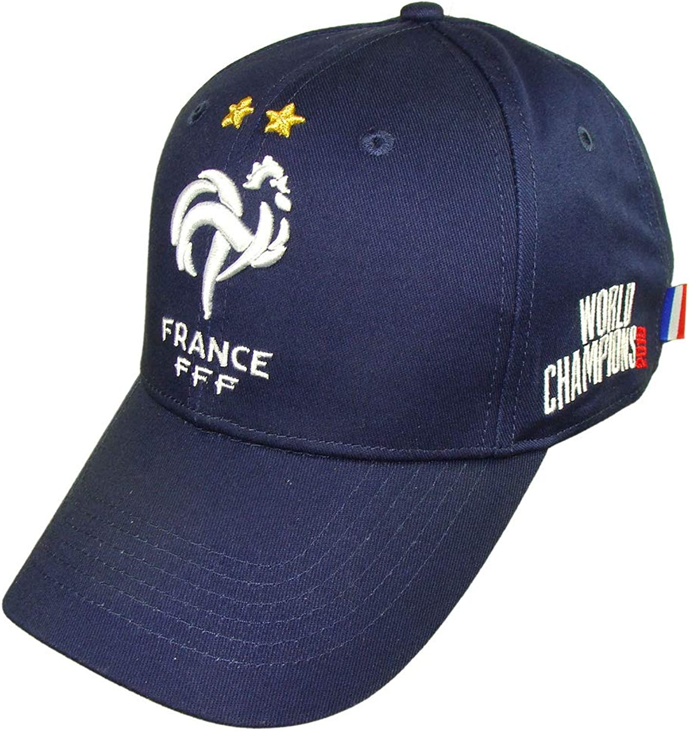 French Soccer Team 'World Champions 2018' Official Cap  blueee