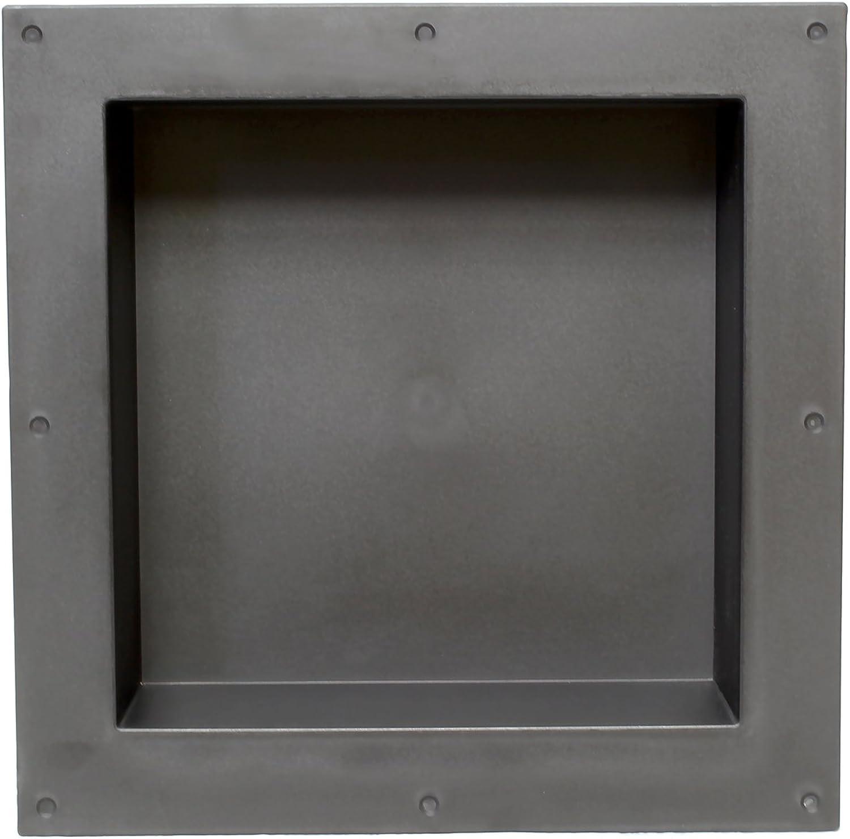7Penn Shower Niche 16 x 16 Inch Single Shelf Shower Insert Shower Shelves for Tile Walls – Wall Niche Shower Box