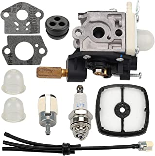 Mannial SRM-210 RB-K75 Carburetor Carb fit Echo Hedge Trimmer HC150 HC150i HC151 HC151i Weed Eater GT200 SRM 210 PE 200 HC150 SRM211 GT200 Replace A021000740 A021000741 A021000742