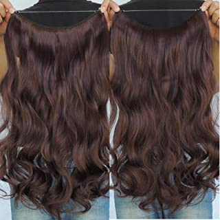 Secret Halo Hair Extensions Flip in Curly Wavy Hair Extension Synthetic Women 20