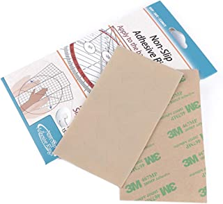 YaDu 60 Pieces Non-Slip Adhesive Grip Rings for Patchwork Rulers -30 Large & 30 Small