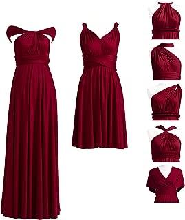Best burgundy convertible dress Reviews