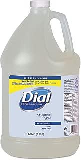 Dial Liquid Antimicrobial Hand Soap for Sensitive Skin, 1 Gallon - 4 per case.