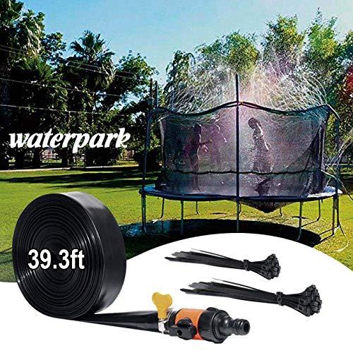 SPOLLK Outdoor Trampolín Aspersor para niños, Fuera Divertido Aspersor de Agua para Césped Jardín Trampolín Accesorios