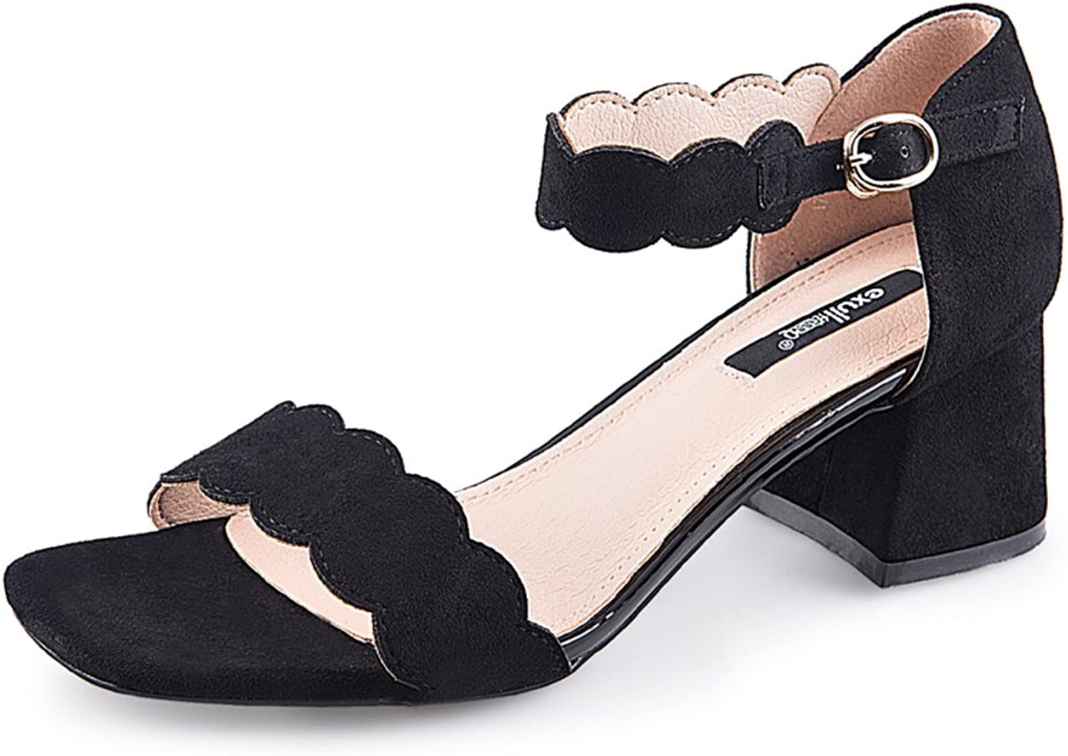 MET RXL Summer,One Word with shoes Ladies Chunky Heels Sandals