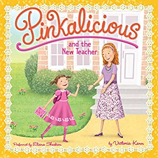 Pinkalicious and the New Teacher audiobook cover art