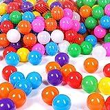 Schramm® 1000 Stück Bälle für Bällebad 6cm Bälle für Kinder Bällebäder Babybälle Plastikbälle Ballpool Ohne Weichmacher 1000er Pack