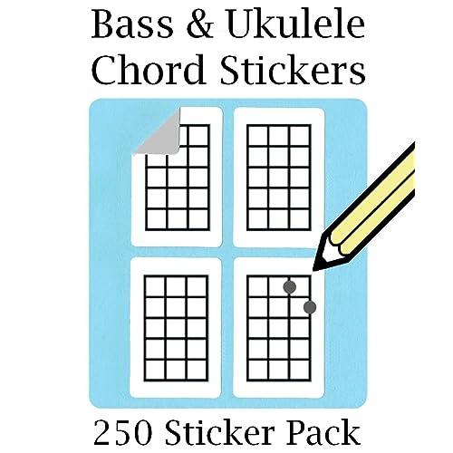 Ukulele Stickers: Amazon com