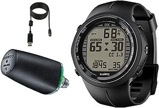 DX Black Elastomer with USB & Suunto Wireless Tank Pressure Transmitter Led