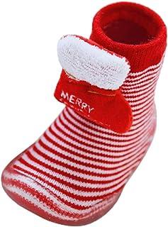 SO-buts baby accessories, SO-buts Infantil Recién Nacida Bebé Niños Niñas Navidad Santa Antideslizante Zapatos De Goma De Suela Suave Cálida Calcetines Zapatos Piso Calcetines Moda