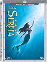 Blu-ray 3D Disney A Pequena Sereia [ Disney The Little Mermaid ] [ Audio and Subtitles in English + French + Spanish + Portuguese ] [Blu-ray 3D + Blu-ray] with SlipCover