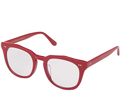DIFF Eyewear Elmo Red + Blue Light (Red/Blue Light) Fashion Sunglasses