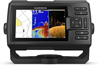 "Garmin Striker Plus 5cv with Transducer, 5"" GPS Fishfinder with CHIRP Traditional.."