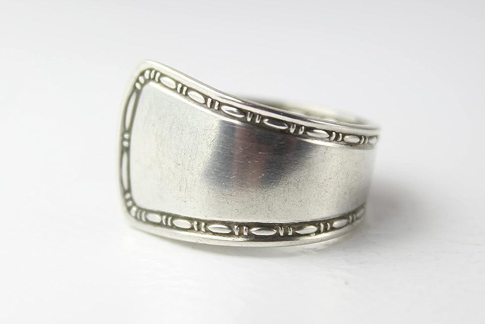 Ring 800 Silber Besteckschmuck Ring, ca. 57 (18,1)