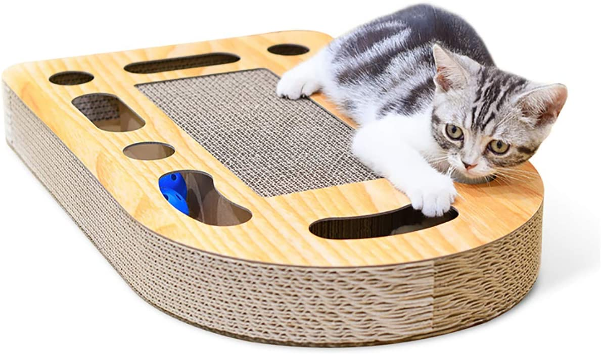 MIAOXSEN Cat Toy with Sturdy Scratching B Lounge Max 53% OFF and Jingly Recommendation Pads