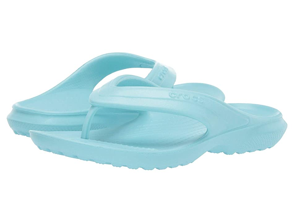 Crocs Kids Classic Flip (Toddler/Little Kid) (Ice Blue) Kids Shoes
