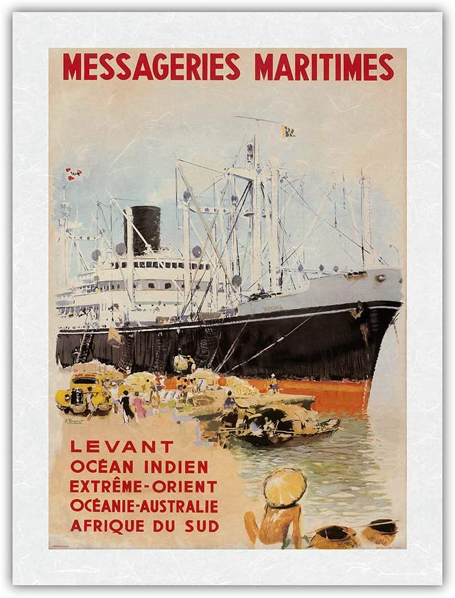 India Orient Australia Bombing free shipping South Max 82% OFF Africa - Messageries Maritimes M