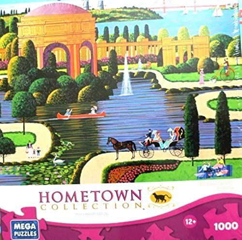 HOMETOWN COLLECTION Featuring the Art of Heronim Palace of Fine Arts 1000 Piece Puzzle by MEGA PUZZLES