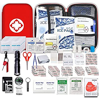 Amazon Promo Code for Car FirstAid Kit EmergencyKit  190 Piece Camping 27092021082605