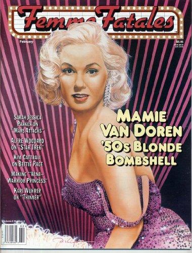 Femme Fatales Magazine NUDE MAMIE VAN DOREN Xena KARI WUHRUR Kim Cattrall LUCY LAWLESS Sexy Pin-Ups FEBRUARY 1997