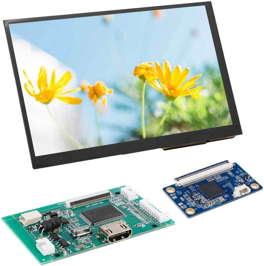 PC Computer DIY Tools Accessory 1024600 Tablet Replacement Parts Raspberry Pi 3 Monitor Screen Eboxer 7 Inches LCD TFT Display for Raspberry Pi 3